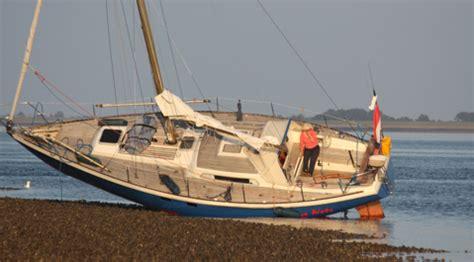 zeiljacht ongeluk jacht vast door navigatiefout hvzeeland nieuws en