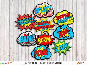 printable word bubbles decorations