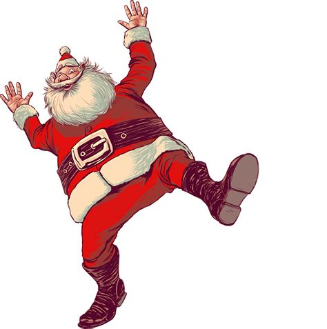 merry christmas santa claus images wallpapers animated
