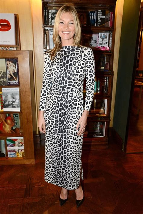4 Satc 2 Tidbits To Sink Your Teeth Into by Kate Moss 10 Wearing Leopard Print Who