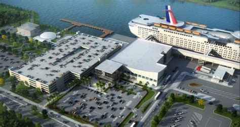 port canaveral moves   cruise terminal  safetysea