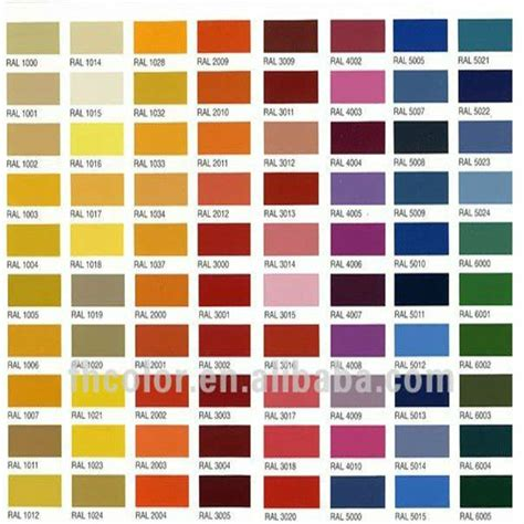 ral color chart ral colour chart ral colour chart warwick glass ral color chart