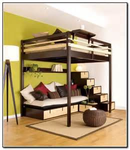Loft Beds With Desk For Adults Beds For Studio Apartment Interior Designing Ideas