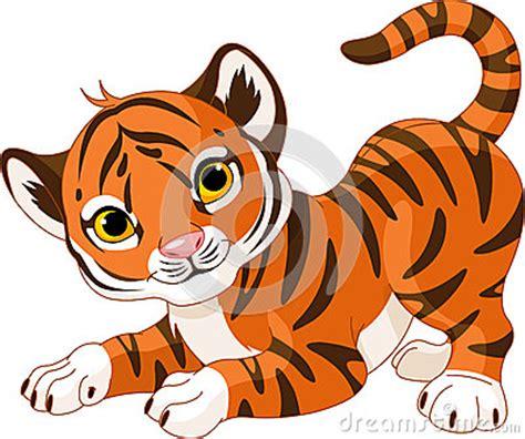 imagenes de tigres kawaii playful tiger cub stock images image 27131104