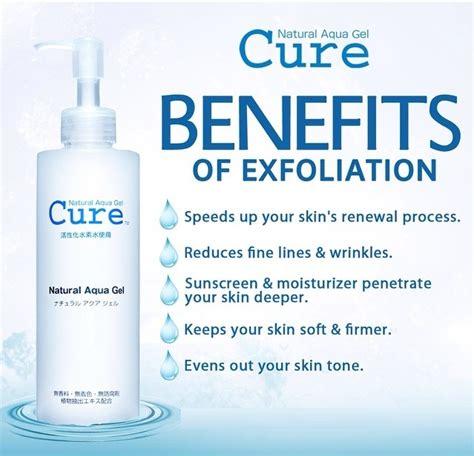 Cure Aqua Gel Japan Ori 1 buy 100 authentic japan no 1 exfoliator cure