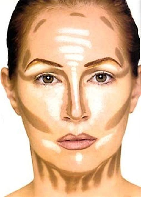 Highlight And Contour how to highlight and contour hair make up