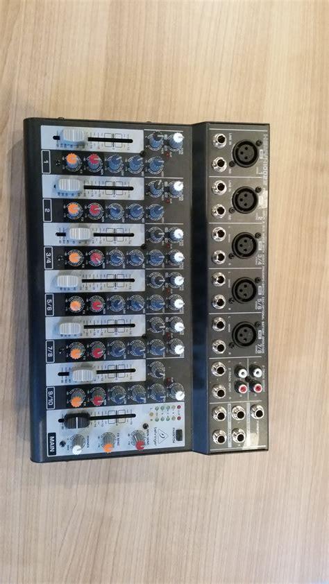 Mixer Xenyx 1002b behringer xenyx 1002b image 1549733 audiofanzine