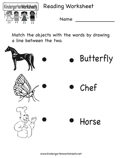 Kindergarten Reading Worksheets Free by Index Of Images Printables Reading