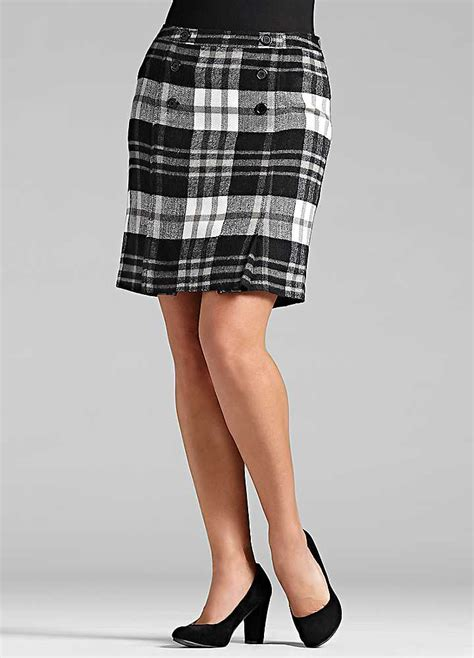 tartan pencil skirt freemans