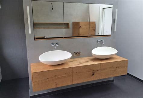 badezimmer innenliegend ideen waschtisch h 228 ngend schreinerei bad