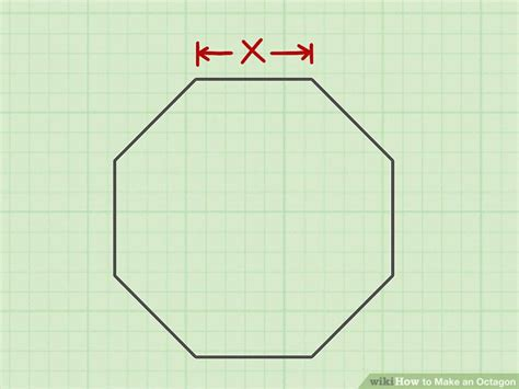 How To Make An Octagon Out Of Paper - 4 ways to make an octagon wikihow
