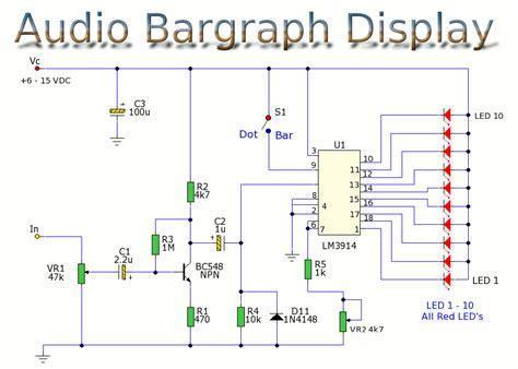 led temperature indicator circuit lm3914 lm3914 circuit schematics lm393 circuits elsavadorla