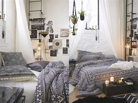 Bedrooms With White Comforters - boho with a touch of industrial lfb