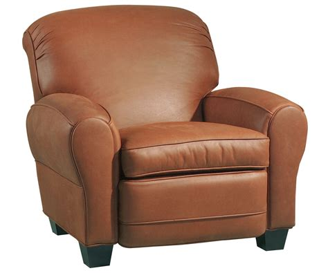 club chair recliner leather classic leather roll back club chair recliner w cigar arms