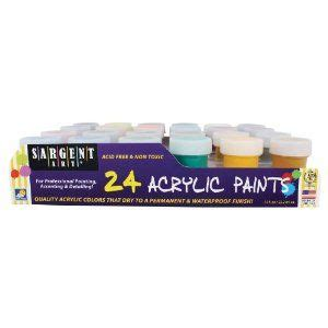 sargent acrylic paint pots 63 best new cool products images on