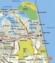 Virginia Beach Map by Virginia Beach Map Free Printable Maps