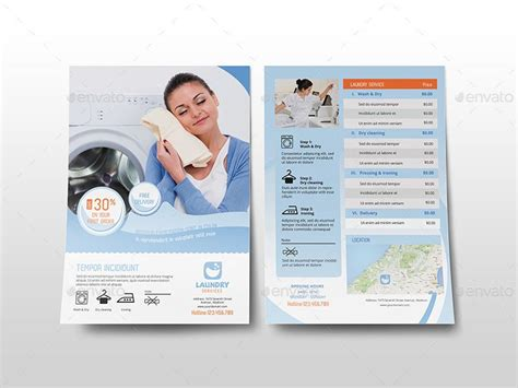 laundry flyers templates laundry services flyer template zeke