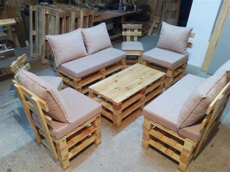 Harga Make Pallet pallet seating set diy