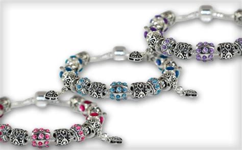 wagjag up to 61 a pandora inspired charm bracelet