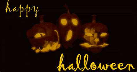 animated  gif happy halloween pumpkins sign banner  cards clipart gifs animation