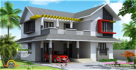 sloped house plans