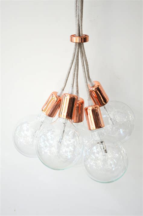 Handmade Hanging Lights - handmade pendant light chandelier edison restoration