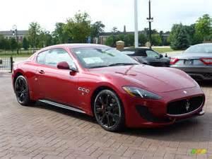 Maserati Gran Turismo Coupe Rosso Trionfale Metallic 2014 Maserati Granturismo