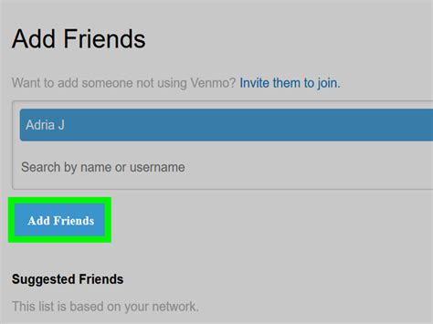 How To Search For On Venmo How To Add Friends On Venmo On A Pc Or Mac 6 Steps