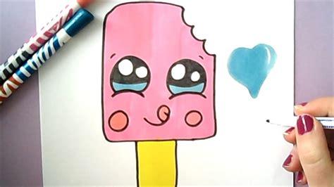 emoji film pinguin how to draw a cute ice cream easy youtube