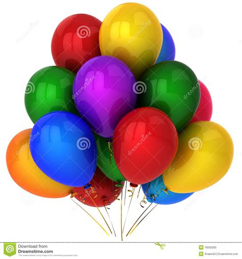 Super Colorful by Super Colorful Helium Balloons Hi Res Royalty Free Stock