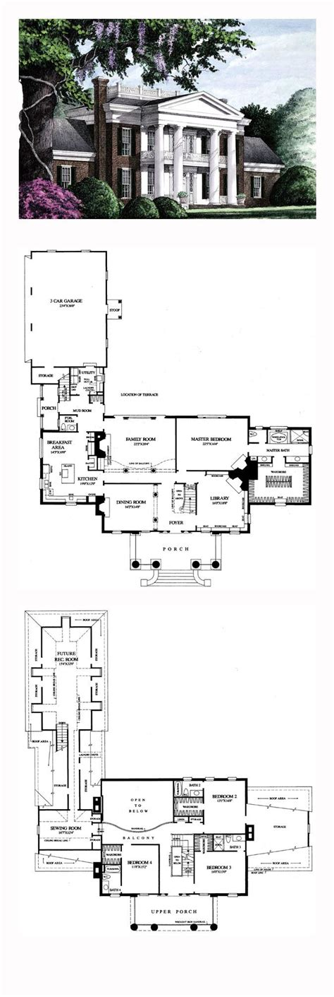 Southern Plantation Floor Plans Southern Plantation House Plans Home Design