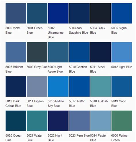 colour shades with names for external home homeofficedecoration asian paints colour shades blue