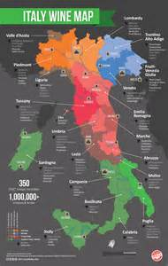 Wine Map Of Italy by A Guide To Italy S Wine Regions Growing Areas Grape