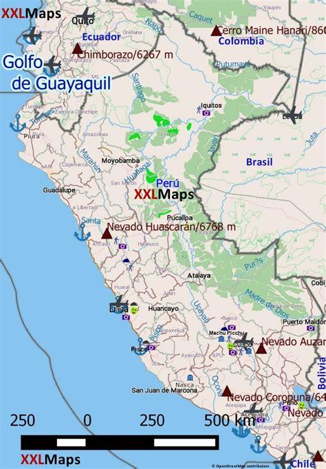 tourist map of maps update 10001256 tourist map of peru map of peru