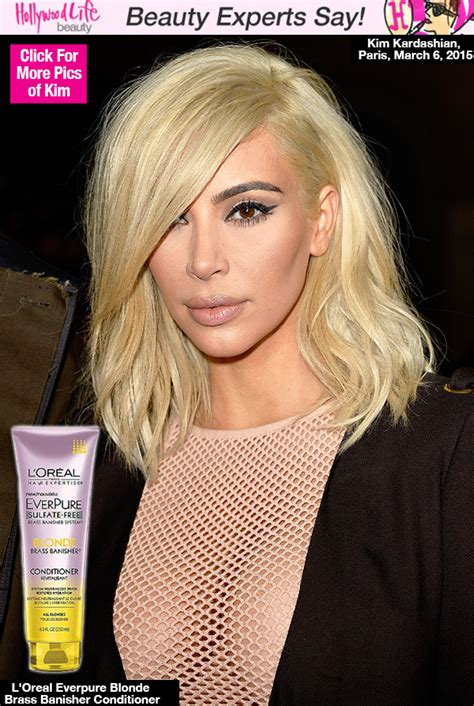 keeping up with the kardashians kim blonde is full time pics kim kardashian s platinum blonde experts give