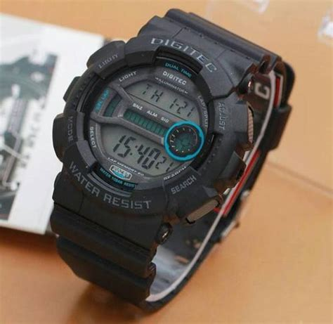 Jam Tangan Pria Reddington Bj431 Original Black Grey T1310 jam tangan digitec dg 2049 digital original
