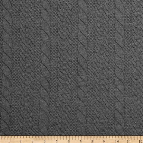 grey knit fabric keep warm with this unique lofty knit fabric this