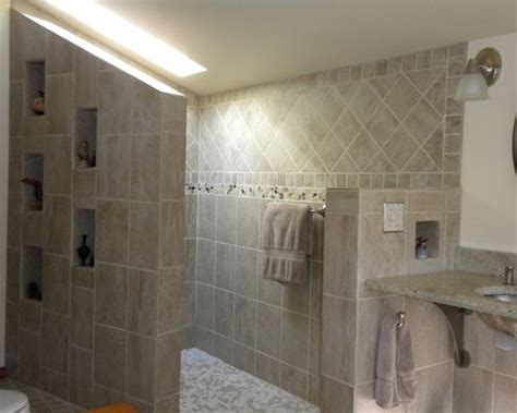 doorless shower plans doorless walk in shower houzz