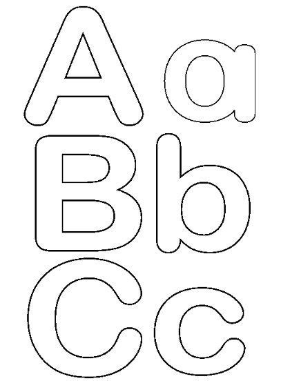 moldes de letras mayusculas y minusculas para imprimir y recortar letras para imprimir y recortar gratis moldes