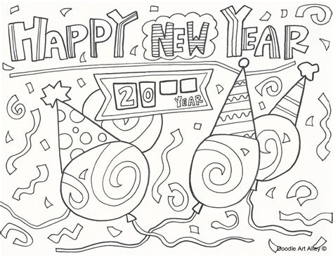 happy new year hat coloring pages happy new year hat coloring pages coloring home