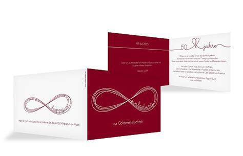 Einladung Hochzeit Besonders by Einladungskarten F 252 R Die Goldene Hochzeit Edel Individuell