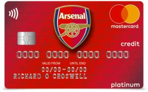 credit credit service provider arsenal continues their partnership with mbna