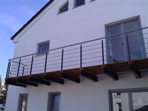 balkongeländer stahl balkone