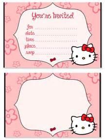 hello birthday invitations for printable treats