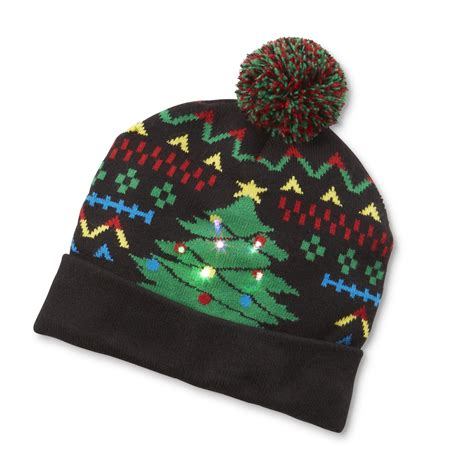 light up hat editions s light up knit hat tree