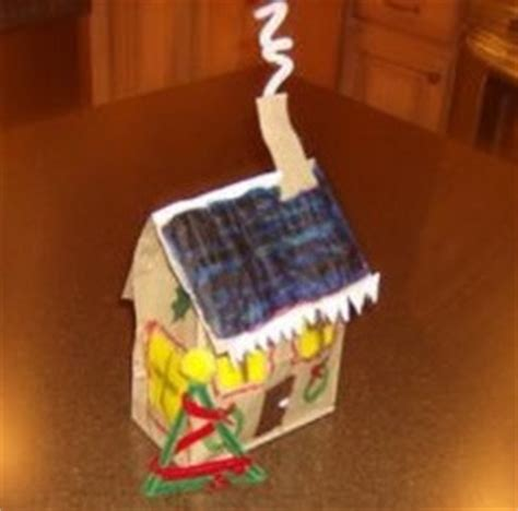 paper bag gingerbread house pattern gingerbread craft ideas from christmas decoration crafts