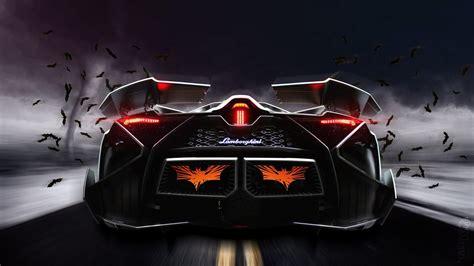 lamborghini egoista lamborghini egoista concept supercar rear view 4k ultra hd