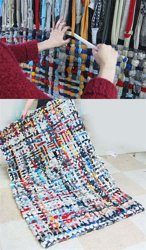 Diy Woven Rug by Best 25 Rag Rug Tutorial Ideas On Rag Rugs