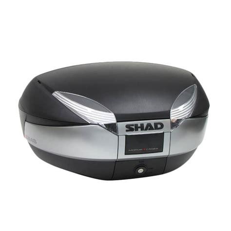 Terbatas Stok Terbaru Tas Box Jas Hujan Motor Bagasi Cadangan Merek Jk jual shad sh 48 box motor harga kualitas