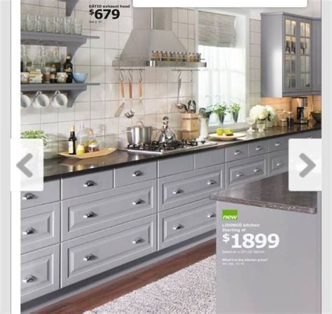 ikea grey kitchen cozy home ideas